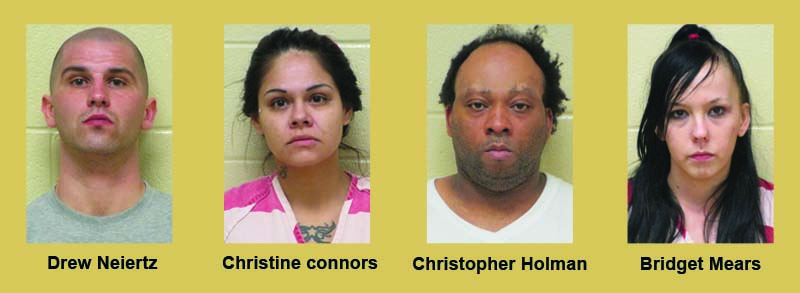 Narcotics agents with the Bossier Sheriff's Office and Bossier City